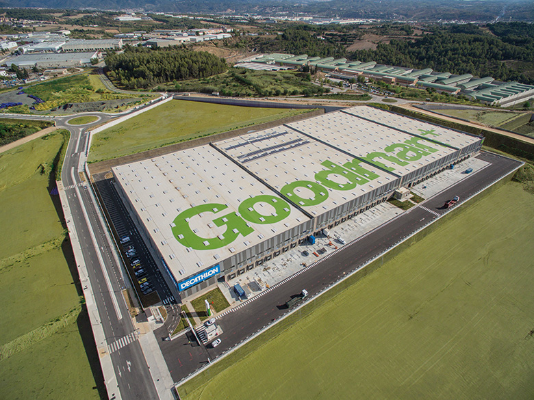 Decathlon, San Margarit Logistics Centre, Barcelona, Spain